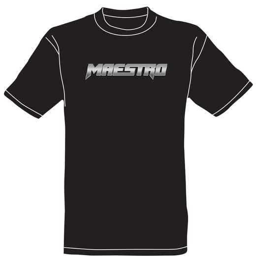 Maestro official band logo t-shirt