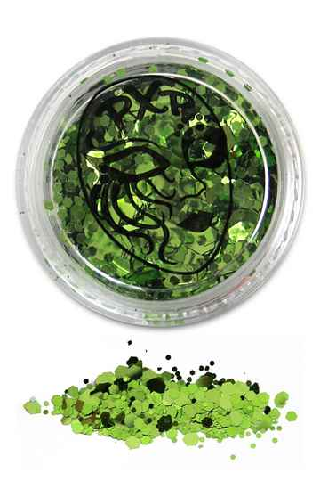PXP Professional Colours Glitter Sparkling Tropical green 5gr 43161
