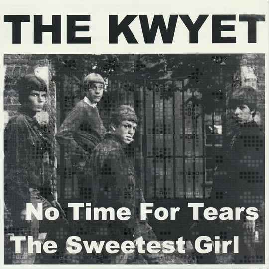 """TF008 // THE KWYET - NO TIME FOR TEARS (7"""")"""