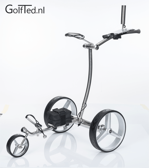 GT-N  Elektrische RVS golftrolley