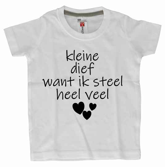 Dreumes/Baby T-shirts  hartendief