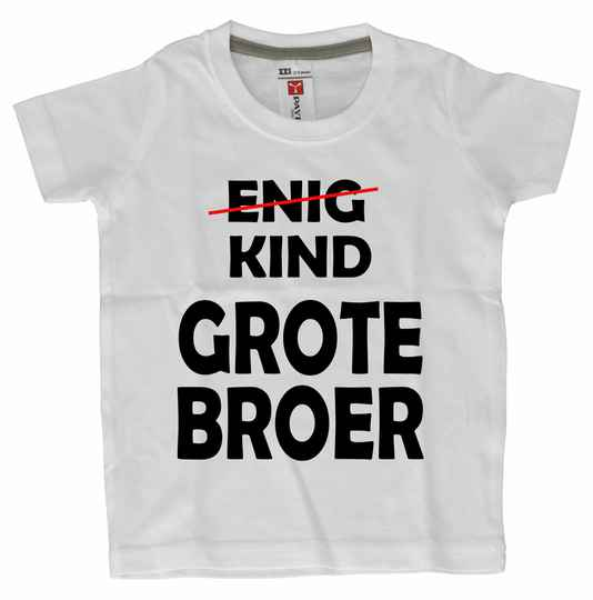 Dreumes/Baby T-shirts  Grote broer