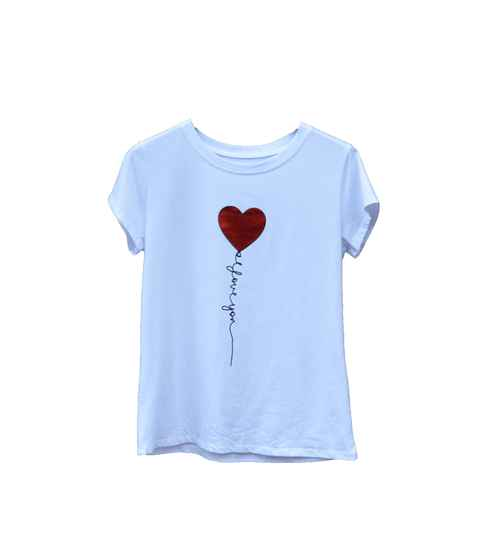 Tops & T-shirts - Cute heart Rood