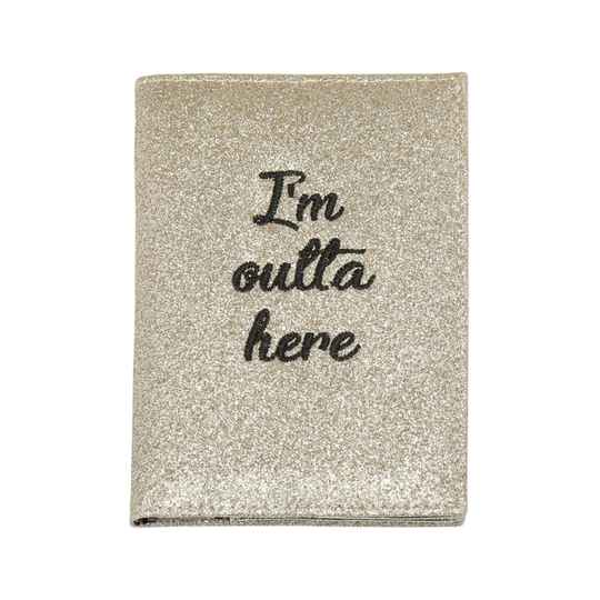 Paspoort hoesjes - case Outta here