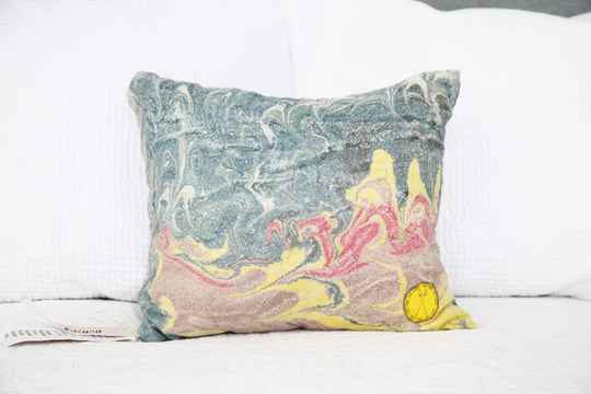 Peace Silk Pillow 2.1