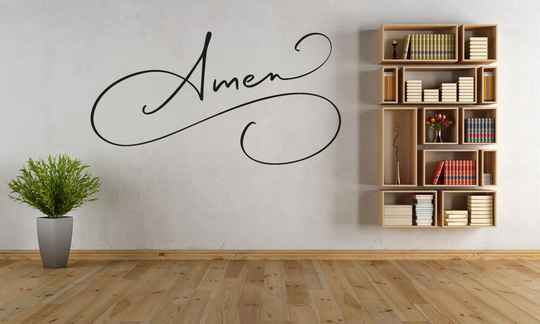 Muursticker 201101 - Amen