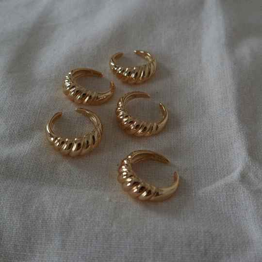 Banquette ring goud