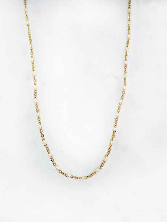 Almond small necklace
