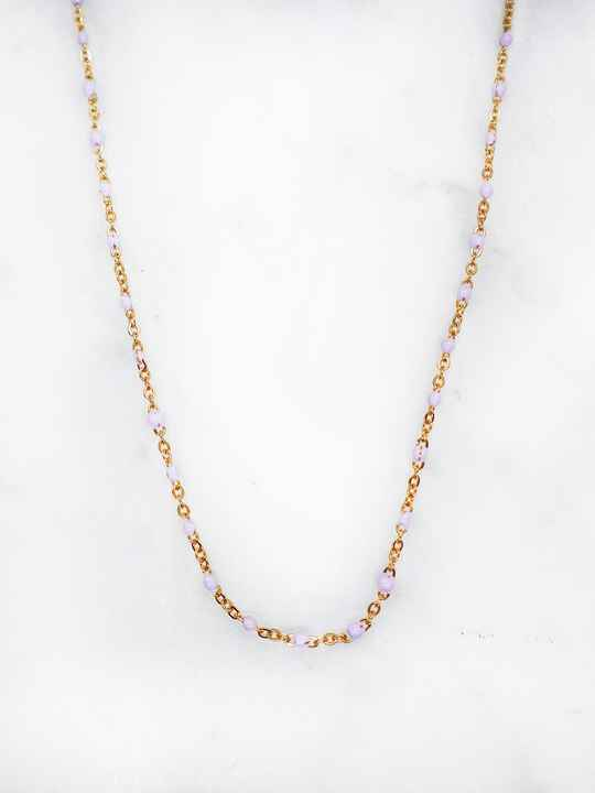 Lavender small necklace