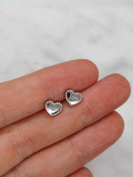 Love ear dots zilver