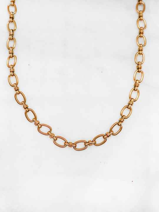 Bianca necklace gold