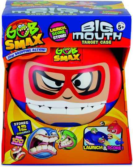 Gob Smax BIG MOUTH CASE WITH BALL
