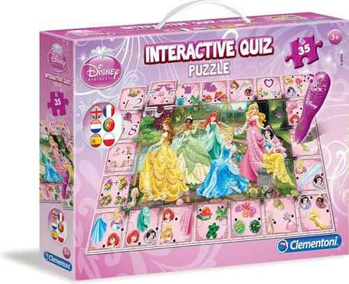 Interactive Quiz Puzzle Disney Princess