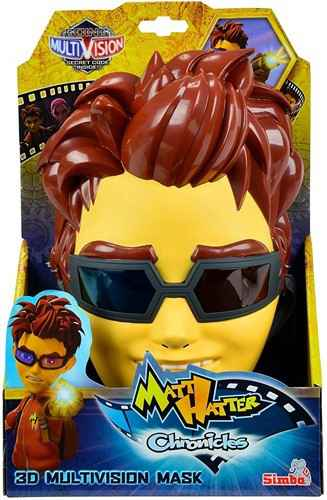 SIMBA MATT HATTER CHRONICLES 3D MUTIVISION MASK 16X25CM