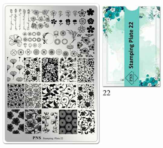 PNS stamping plate 22