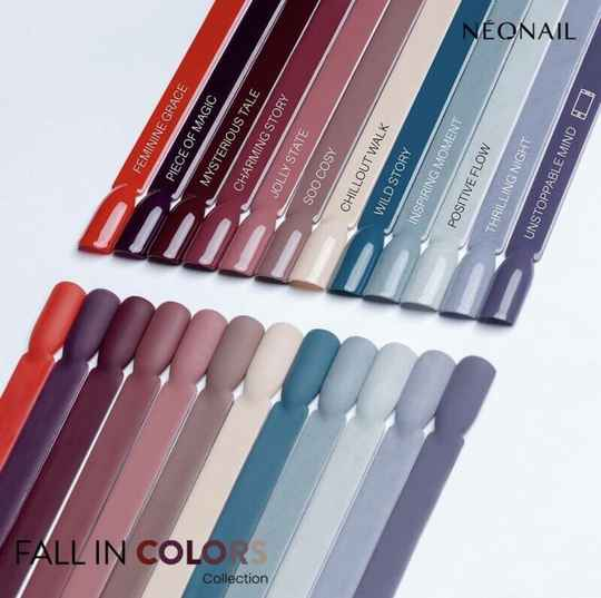Neonail gelpolish Fall in Colors collection + gratis flakes