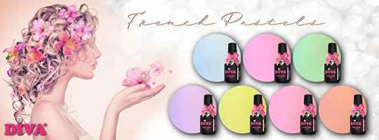DIVA gellak French Pastel collection