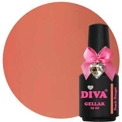 DIVA gellak Peach Nougat (sensual diva collection)