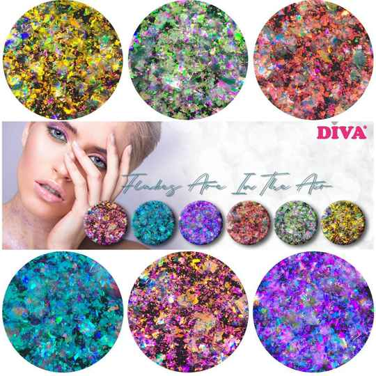 DIVA Flakes Are In The Air collection
