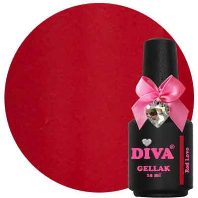 DIVA gellak Red Love (love at first sight collection)