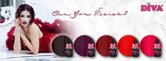 DIVA gellak Can You Resist Collection