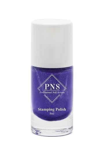 PNS stamping polish 08 chrome paars