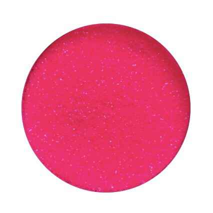 Lenks glitters in pot - neon roze