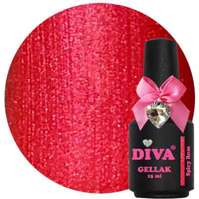 DIVA gellak Spicy Rose (never fully diva collection)