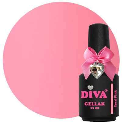 DIVA gellak Coral Pink (the corals collection)