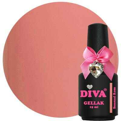 DIVA gellak Sensual Rose (kissed by a rose collection)