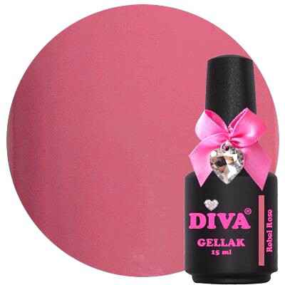 DIVA gellak Rebel Rose (kissed by a rose collection)