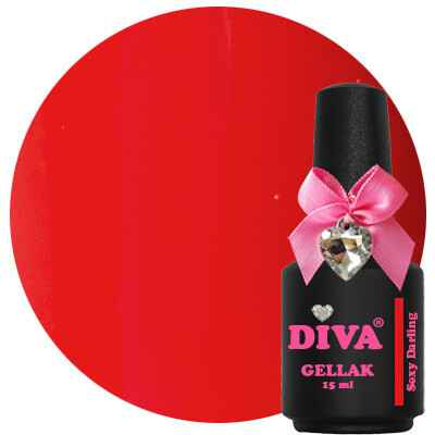 DIVA gellak Sexy Darling (lust in a bottle collection)