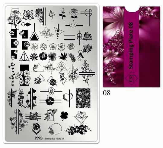 PNS stamping plate 08