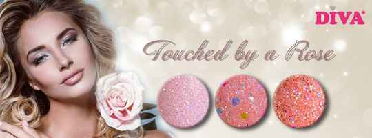 DIVA touched by a rose glitter collection