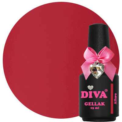 DIVA gellak Allure (the color of affection collection)
