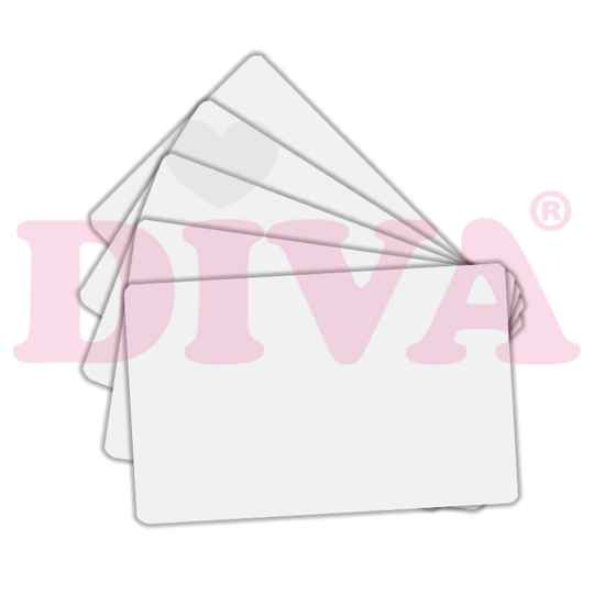 DIVA pvc showcards wit 25st
