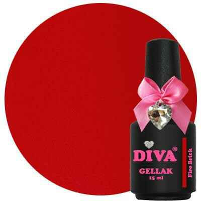 DIVA gellak Fire Brick (sensual diva collection)