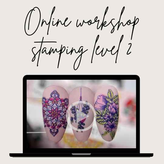 Online stamping workshop level 2 (live 11 mei 20:00 u)