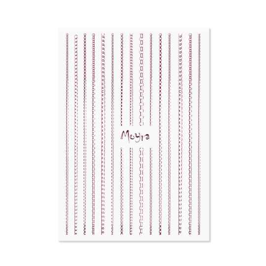 Moyra nail art strips chain 03 rose gold