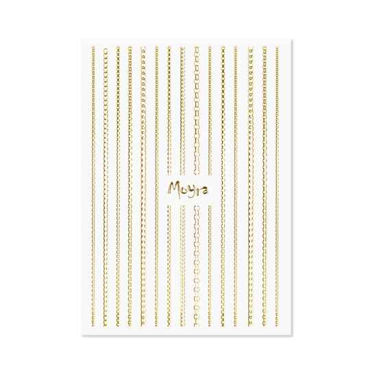 Moyra nail art strips chain 01 gold