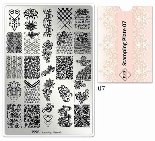 PNS stamping plate 07
