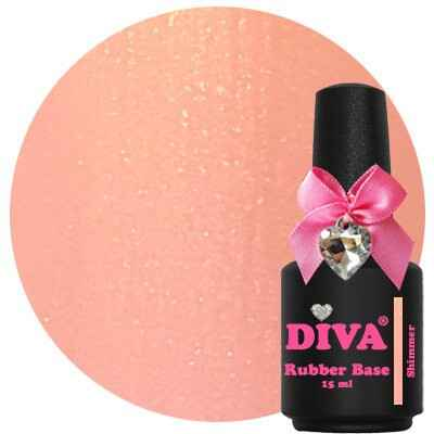 DIVA rubber base coat - shimmer