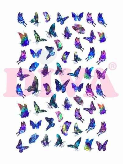 DIVA butterfly stickers 3