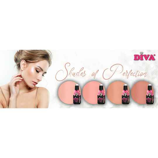 DIVA gellak Shades of Perfection collection