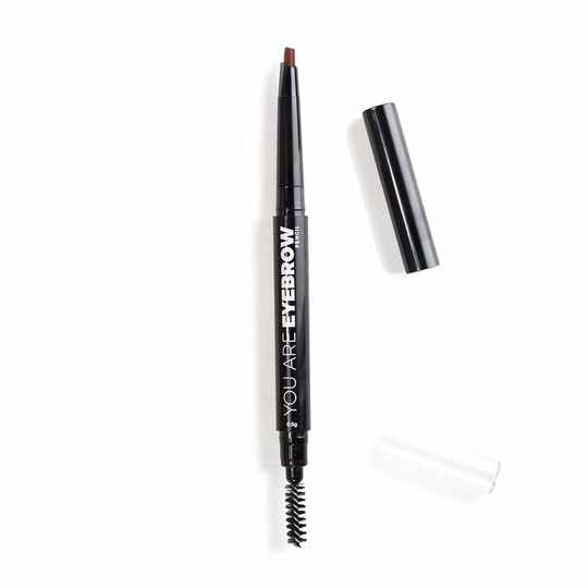 You Are Cosmetics Eyebrow Pencil 2 in 1 Deep Brunette #11706
