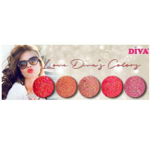 DIVA diamondline glitters Love Diva's Colors