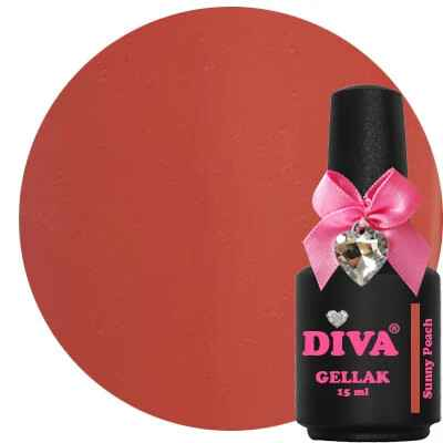 DIVA gellak Sunny Peach (dress your nails collection)