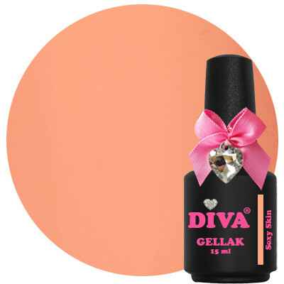 DIVA gellak Sexy Skin (the color of affection collection)