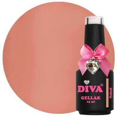 DIVA gellak Naked (shades of perfection collection)