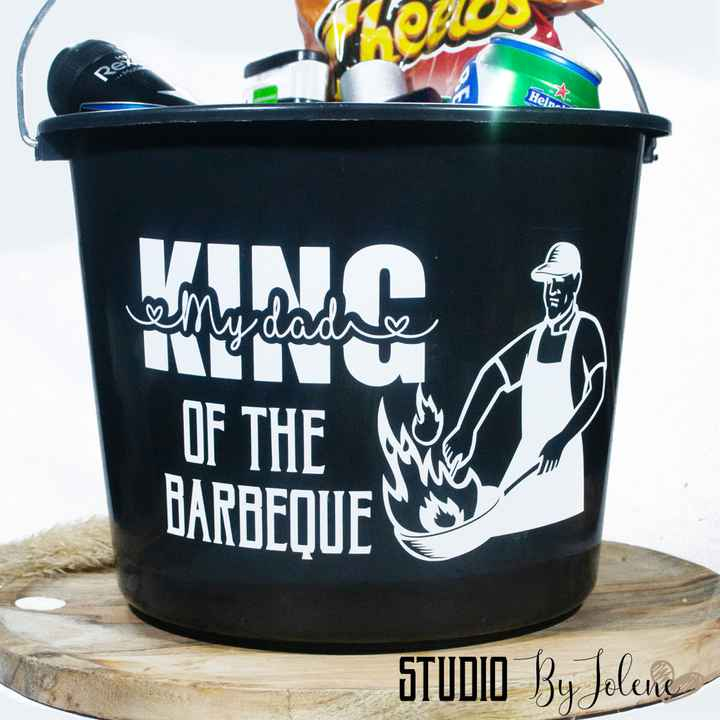 STICKER EMMER || KING OF THE BARBEQUE